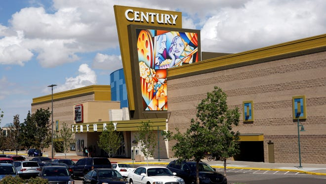 The Century theater in Aurora, Colo., was closed for six months after the shooting where 12 people were killed and 70 injured.