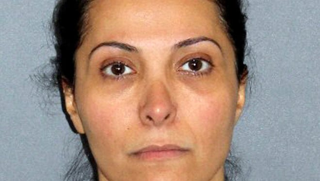 A file photo provided by the Irvine Police Department shows Meshael Alayban, who was arrested July 9, 2013, in Irvine, Calif., for allegedly holding a domestic servant against her will. An Orange County judge has delayed the arraignment until September 20, 2013, for Alayban a Saudi princess charged with human trafficking and says he's concerned that she didn't show up for the hearing MOnday July 29, 2013.