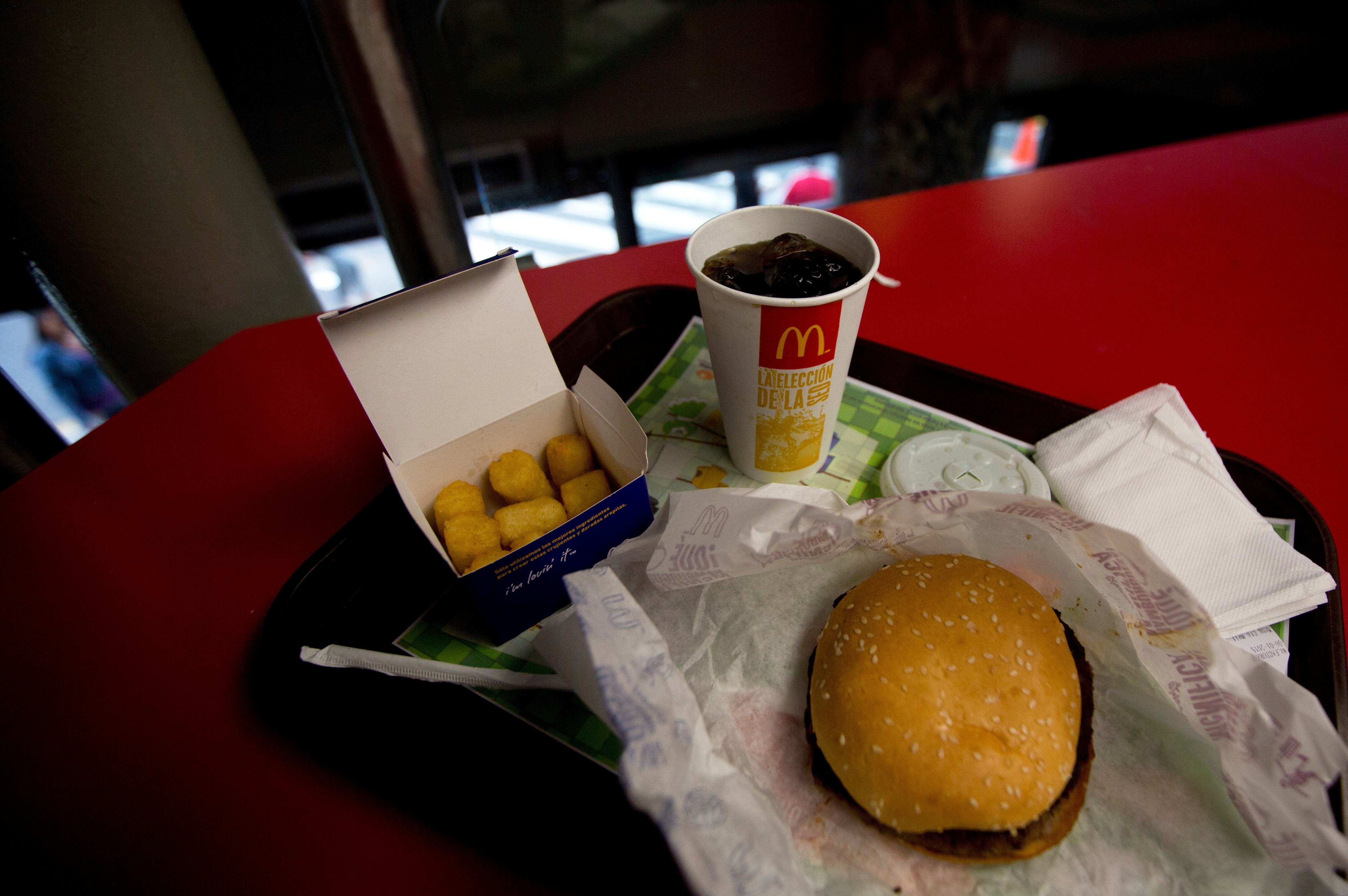 French fry shortage at McDonald's in Venezuela