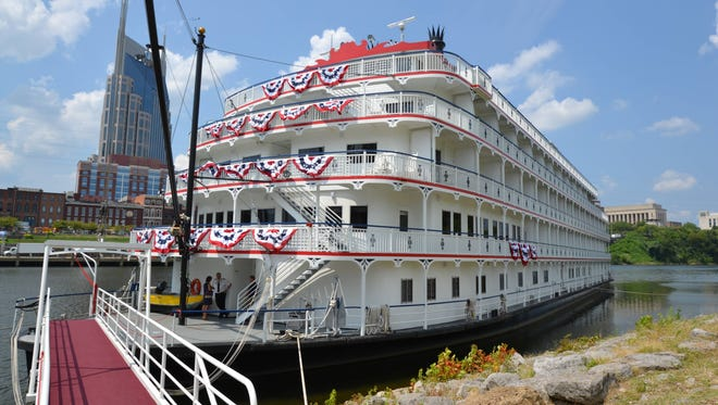American Cruise Lines' 150-passenger Queen of the Mississippi.