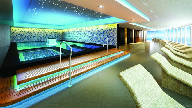 Norwegian Cruise Line Plans Two Deck Spa On Next Ship