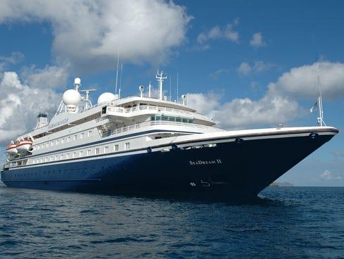 SeaDream Yacht Club's SeaDream II.