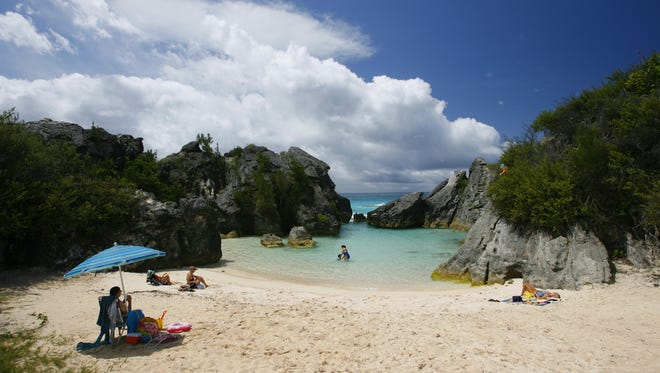 Jobson's Cove on the south shore of Bermuda.
