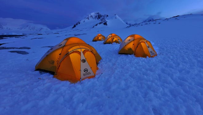 Antarctica cruise adds camping option: Expedition cruise operator Hurtigruten has added a shore excursion that involves pitching tents and camping overnight in the frozen landscape of Antarctica.