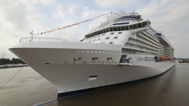 The new Celebrity Reflection, the fifth and final in the Solstice Class series, made its North American debut Dec. 1, 2012.