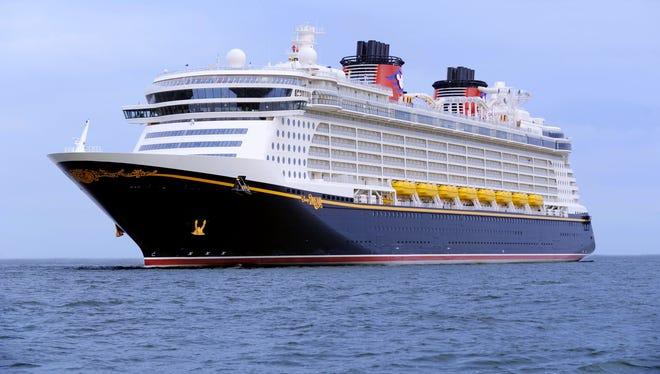 The 4,000-passenger Disney Dream.
