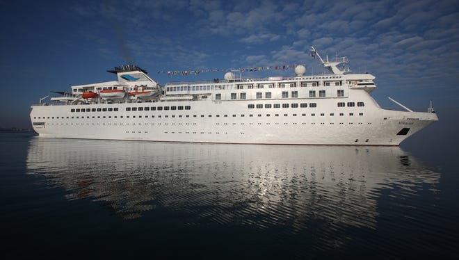 Voyages of Discovery's newly refurbished ship Voyager.