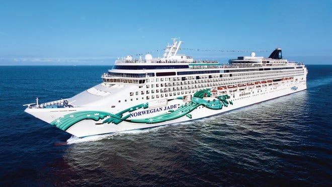 Norwegian Cruise Line's 2,402-passenger Norwegian Jade sails year-round in Europe.