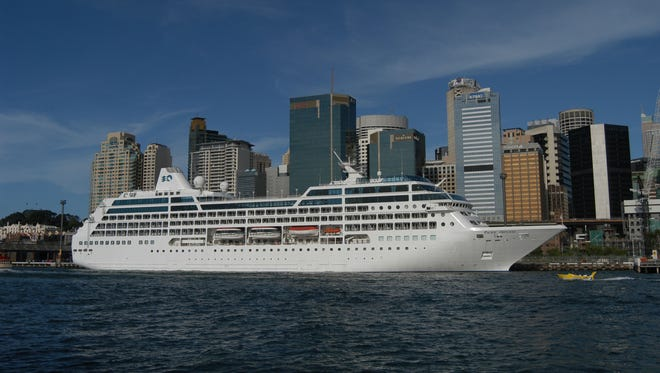 Princess Cruises' Pacific Princess.