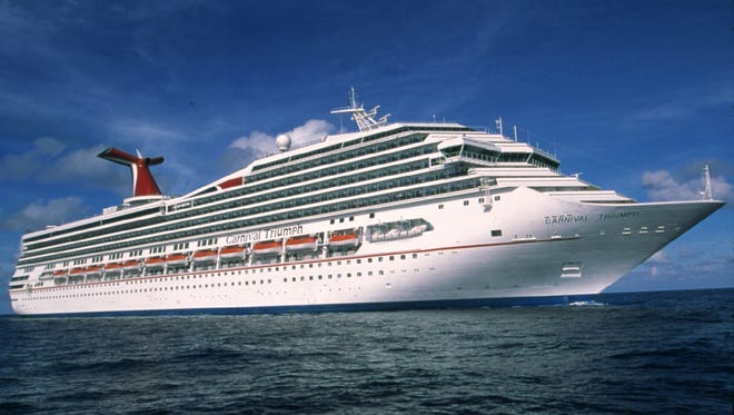Carnival Cruise Lines'? 102,000-ton Carnival Triumph in a file photo.