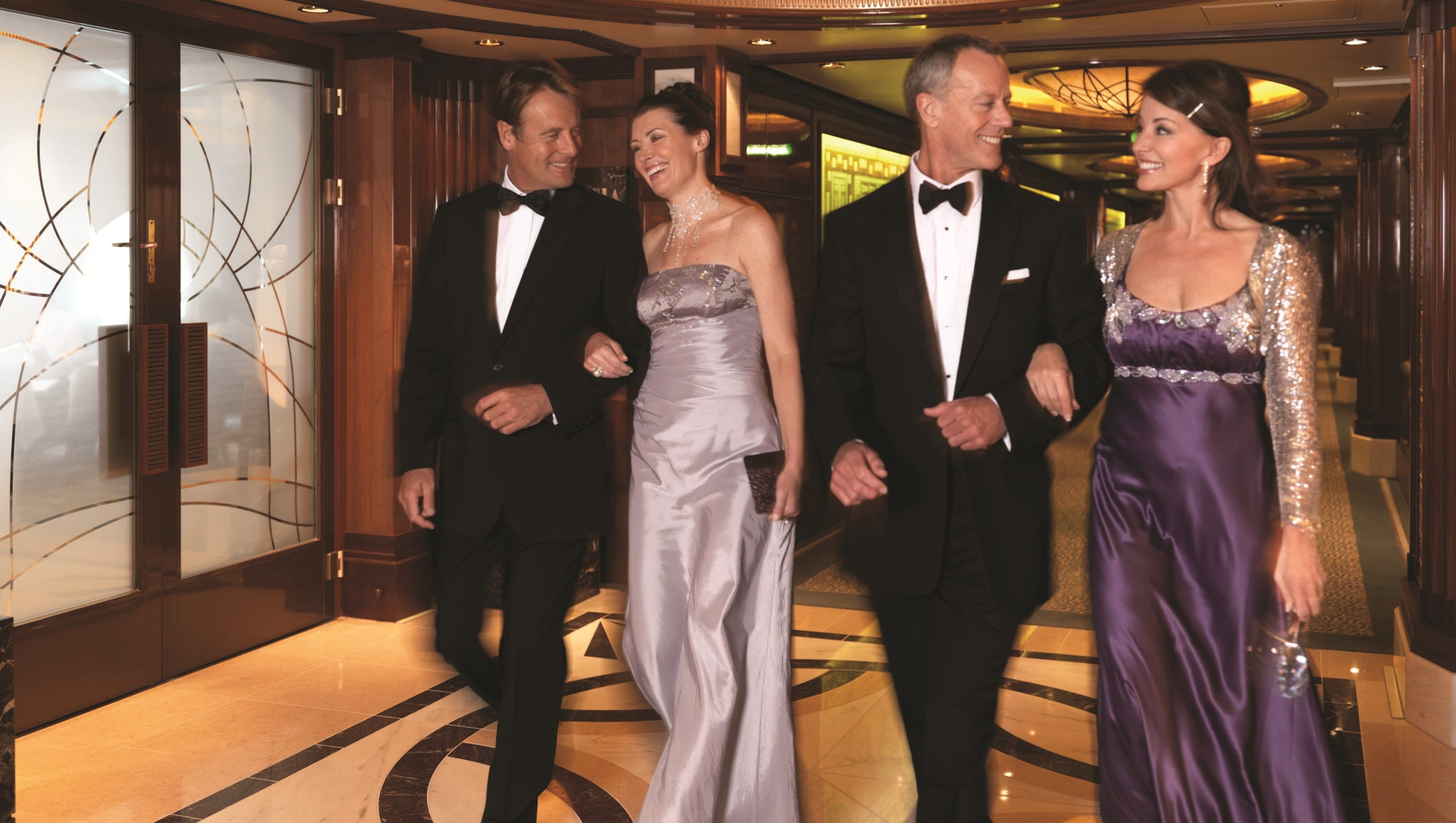 Cunard Line Scales Back Formal Nights
