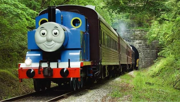 Carnival passengers will have the chance to take a 25-minute ride on a full-sized replica of Thomas the Tank Engine.
