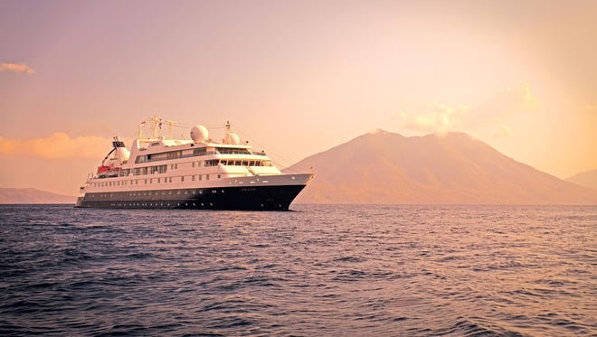 Lindblad Expeditions' 102-passenger National Geographic Orion.
