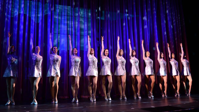 New York's Rockettes perform at the christening of Norwegian Cruise Line's 4,028-passenger Norwegian Breakaway on May 8, 2013.