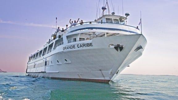 Blount Small Ship Adventures' Grande Caribe.