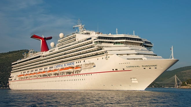 Carnival Cruise Lines' Carnival Sunshine.