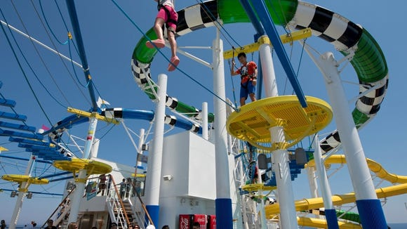 Carnival Sunshine ropes
