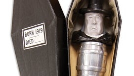 A Mr. Dry bar set is among the Prohibition-era artifacts on display at the National Constitution Center in Philadelphia.