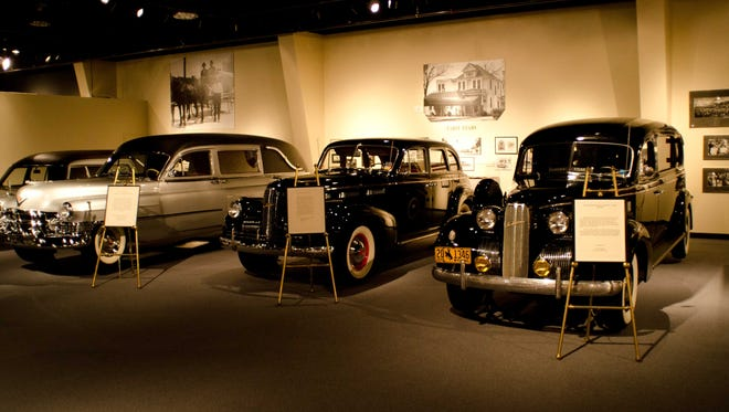 Houston's National Museum of Funeral History offers a serious take on death, including an exhibit on historic hearses.