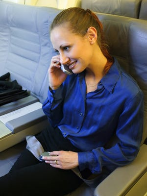 Technology now allows passengers to make cellphone calls on flights, but flight attendants fear the consequences.