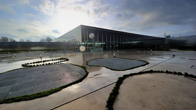 Louvre museum gets a sister: The Louvre-Lens, in a cutting-edge glass-and-steel building in the non-touristy Nord-Pas de Calais region, made its public debut Dec. 12 with about 200 works on loan from the Paris museum. The new museum is in the northern French city of Lens.