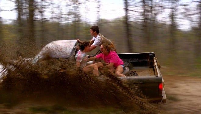 A scene from MTV's television program Buckwild.