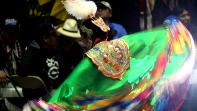 This weekend's Gathering of Nations Powwow in Albuquerque showcases Native American and indigenous culture with more than 700 tribes and 3,000 Native American singers and dancers wearing traditional regalia.