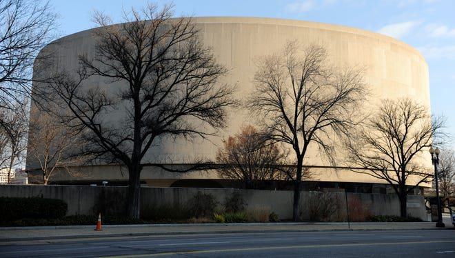 The Smithsonian's Hirshhorn Museum.