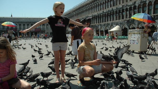 Feeding pigeons in Venice's St. Mark's Square is illegal. It's one of many foreign laws that might surprise American visitors.