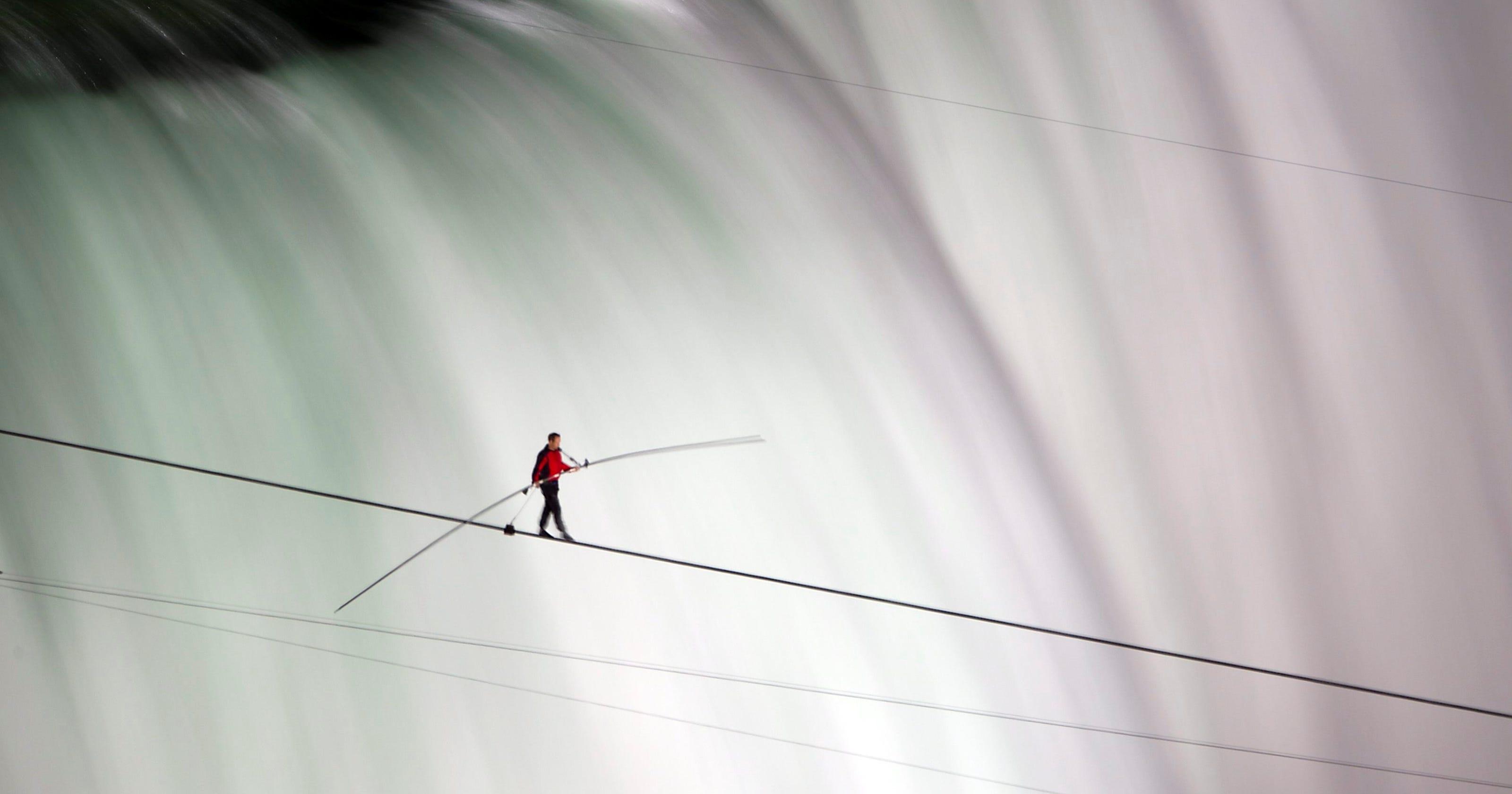 Wallenda's canyon walk will be daring, but not so Grand