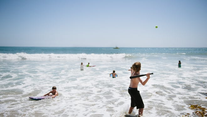 San Clemente State Beach in Orange County, Calif., is one of 13 five-star rated beaches by the Natural Resources Defense Council.