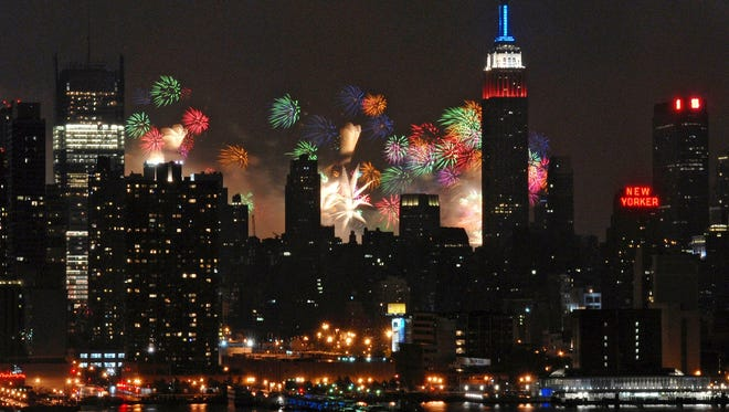 You can see New York's famous fireworks this year and find a nearby hotel for under $100, according to a rate analysis by HotelTonight.