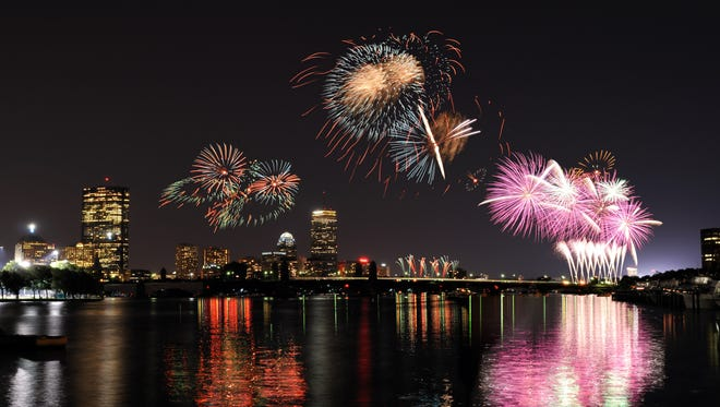 Some rooms at the Royal Sonesta, Boston hotel  face the Charles River with views of the Independence Day  fireworks.