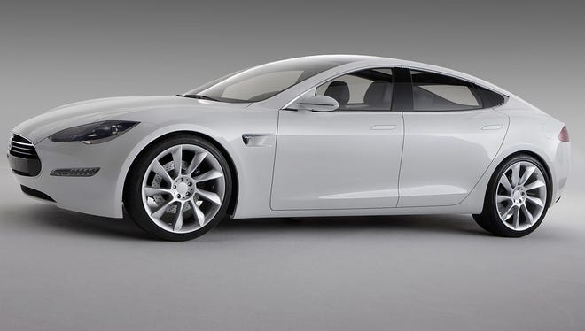 The electric Model S is now in production