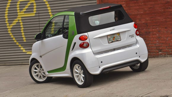 It only has two seats, but at least its electric version won't cost ...