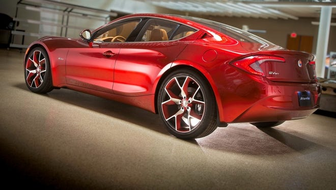 Fisker Atlantic concept is being pushed back for production