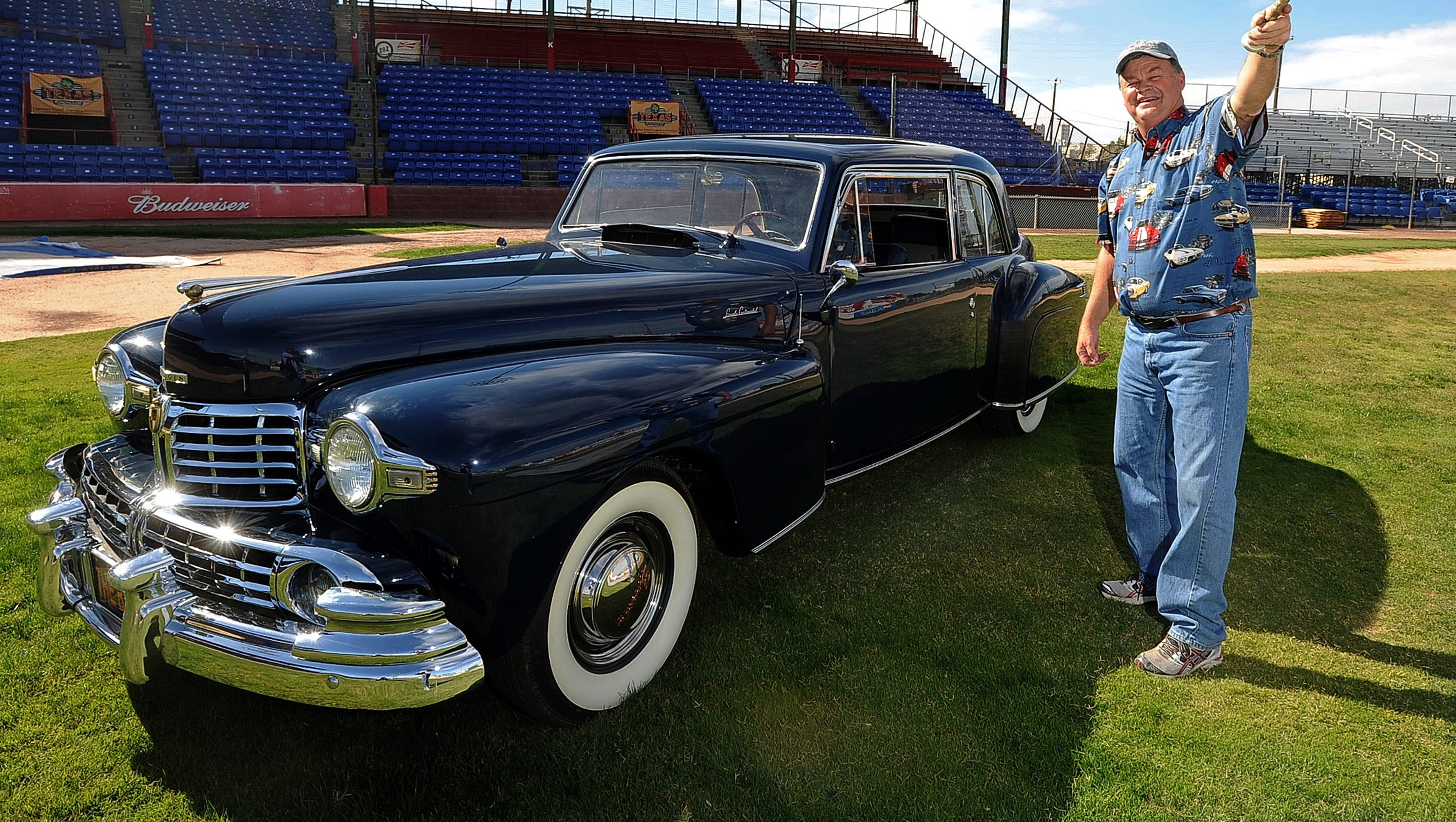 Baseball And Car Loving Texan Buys Babe Ruth S Lincoln