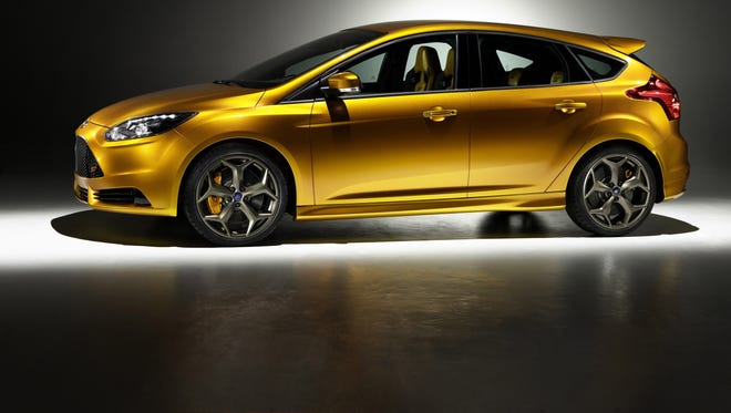 The new Ford Focus ST features a  2-litre Ford turbocharged engine