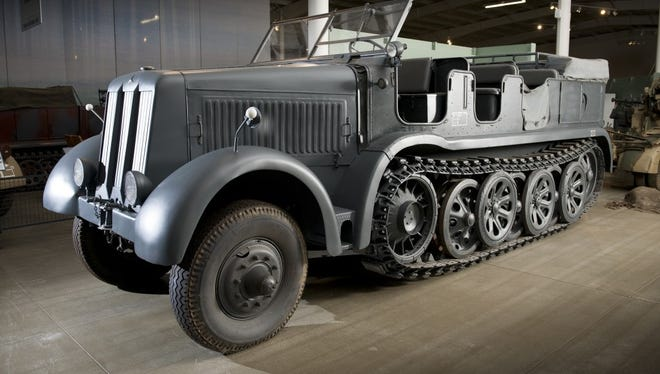 Auctions America is selling off former military vehicles