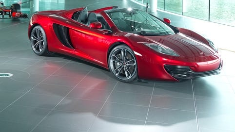 Neiman Marcus offered this McLaren through its holiday catalog,