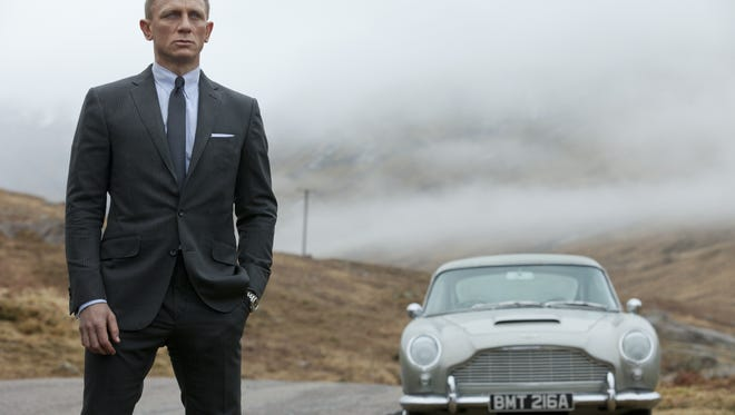 Drive On Skyfall S James Bond Gets His Aston Martin