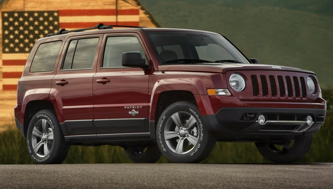 Jeep gives Patriot a patriotic makeover