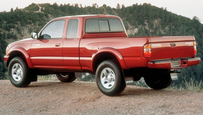 The 2003 Toyota Tacoma is one of the vehicles covered by the recall.