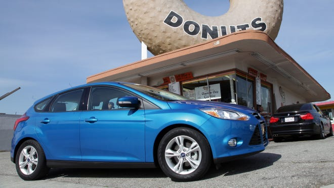 2012 Ford Focus is the world's most popular car.