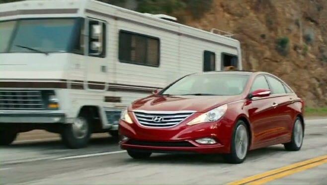 Hyundai's Super Bowl ad for Sonata extolls the passing power of the turbo model.