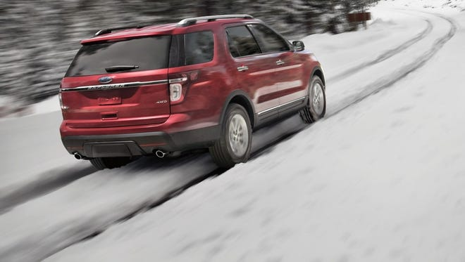 A Ford Explorer offers all-wheel drive.