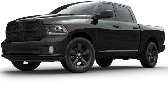 The New Ram Black Express Is True To Its Name Photo