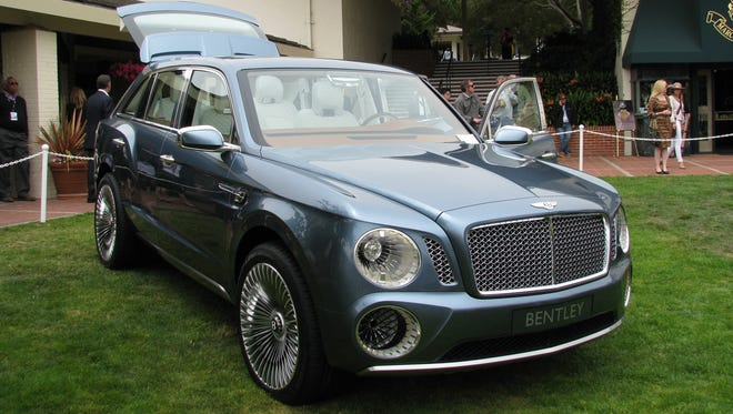 Bentley's design of an SUV concept last year, the EXP 9 F, didn't win attention for its looks.