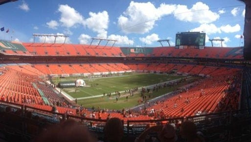 Where are the people, Miami?