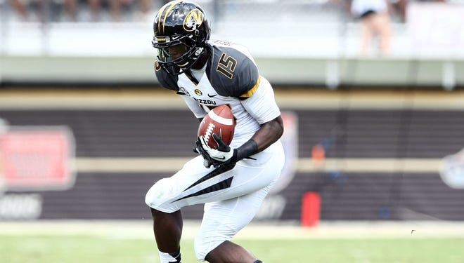 Missouri wide receiver Dorial Green-Beckham scored his first career touchdown with this catch against Central Florida.